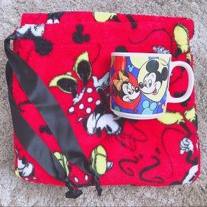 Cozy Vintage Disney Women's Plus Pajama & Mug Set